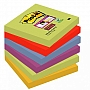 Bloczki samoprzylepne 76x76mm Post-it Super Sticky, paleta Marrakesz