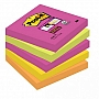Bloczki samoprzylepne 76x76mm Post-it Super Sticky paleta Kapsztad 654S-N